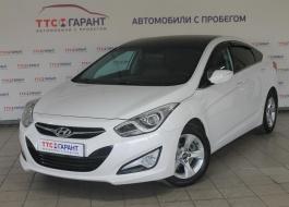 Hyundai i40 с пробегом – цвет – белый