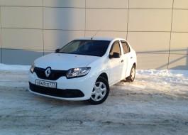 Renault Logan с пробегом – передний привод