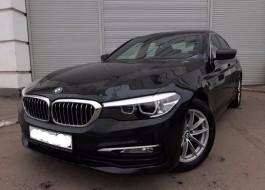 BMW 5 серия с пробегом – дизель турбонаддув