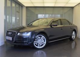 Audi A8 с пробегом – цвет – серый металлик