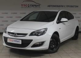 Opel Astra 2013 года выпуска
