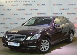 Mercedes-Benz E-Class с пробегом – автомат