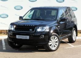 Land Rover Freelander с пробегом – цвет – черный металлик